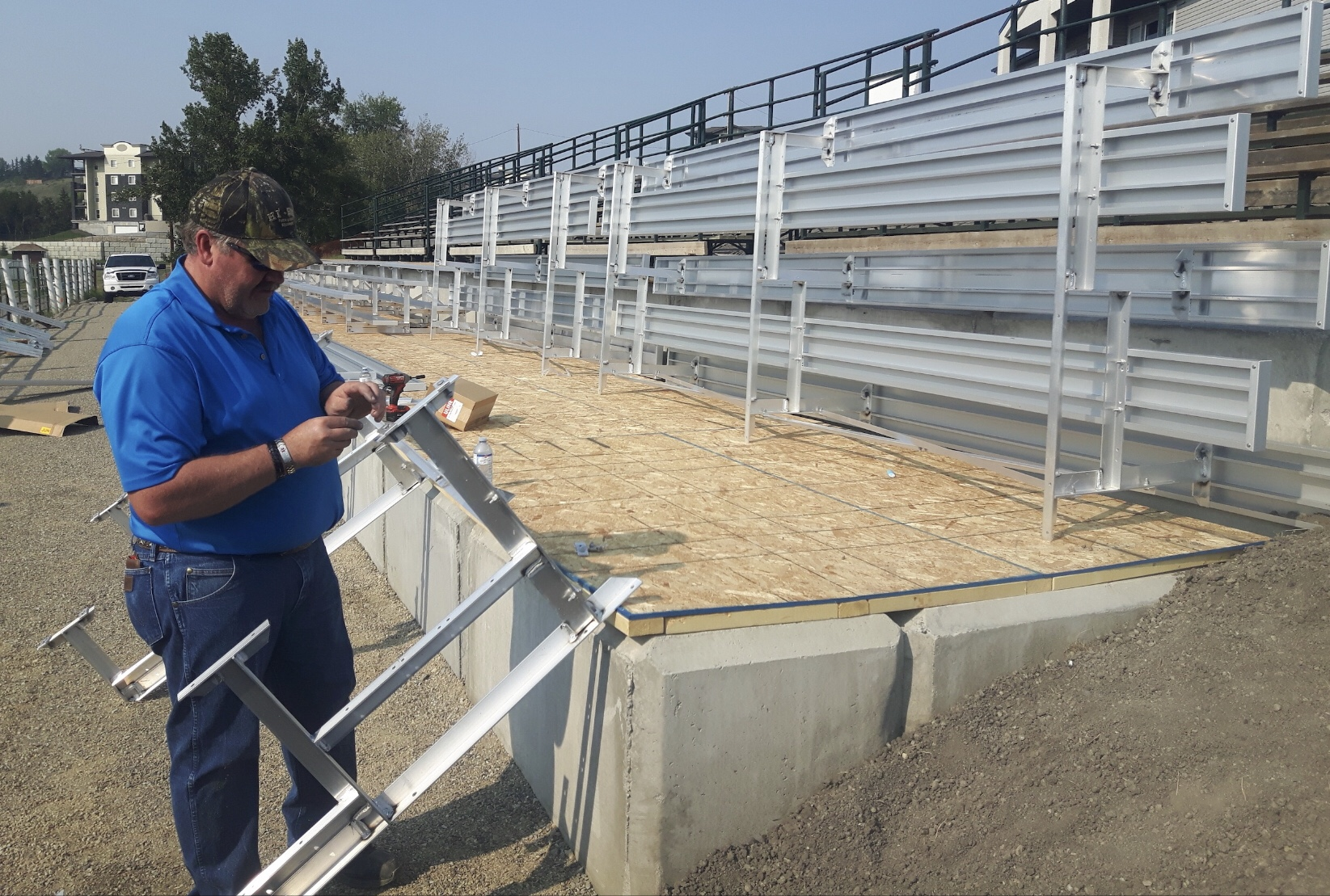 New Bleachers for the Rodeo and beyond
